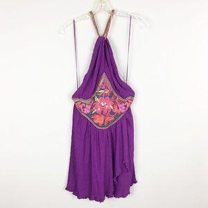 Free People | Purple Floral Dress